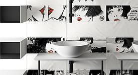 Тематическая фотоплитка для ванной комнаты - изготовление в Днепре 1