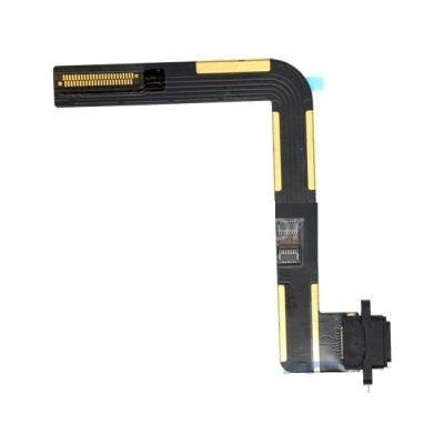 Шлейф iPad Air с разъемом зарядки чёрный