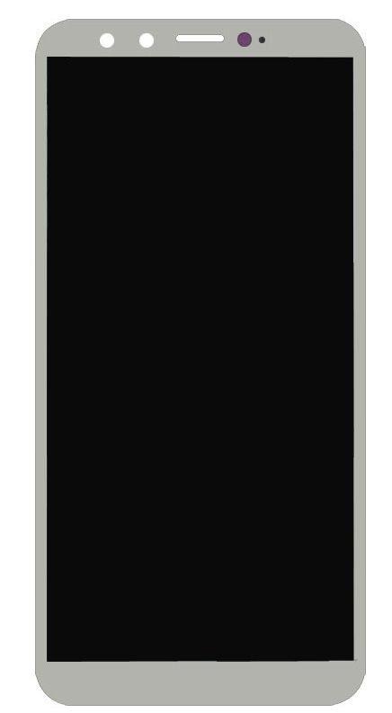 Дисплей Huawei Honor 9 Lite Dual Sim (LLD-31) + сенсор серый