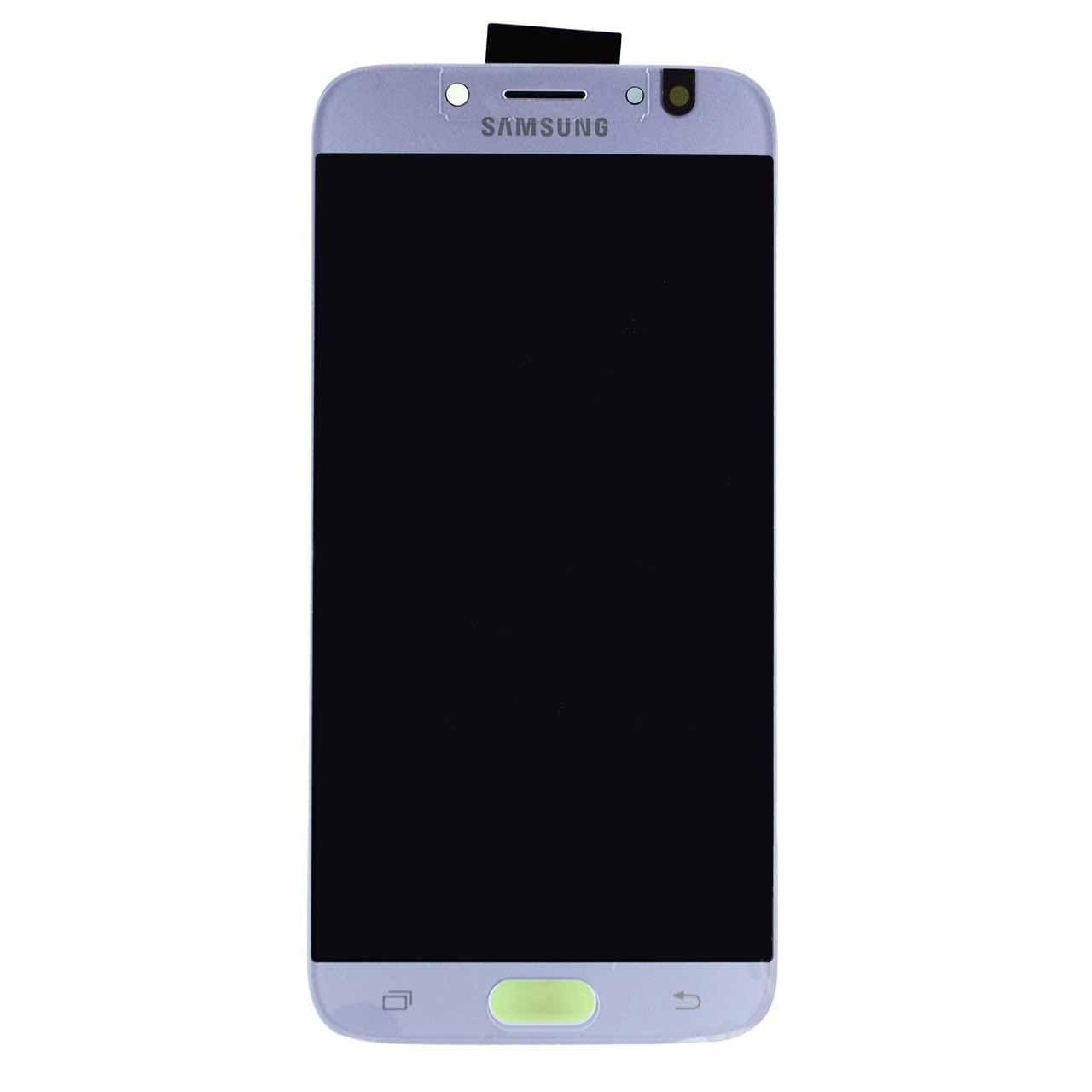 Дисплей Samsung J730 Galaxy J7 (2017) OLED (Android не больше 8) + сенсор голубой