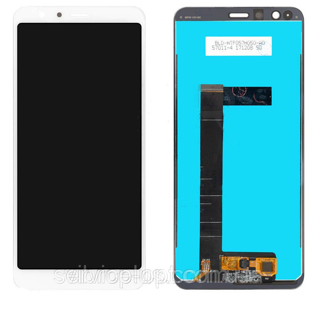 Дисплей Asus ZenFone Max Plus M1 (ZB570TL) + сенсор белый