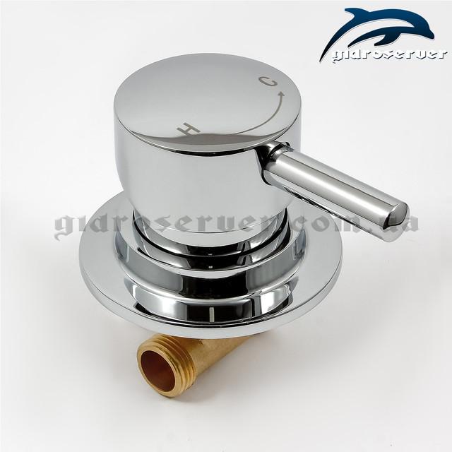 Змішувач душової кабіни, гідробоксу SS-01 необхідний для змішування холодної та гарячої води.