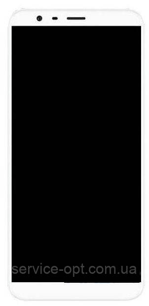 Дисплей Meizu M8c (M810H) + сенсор белый