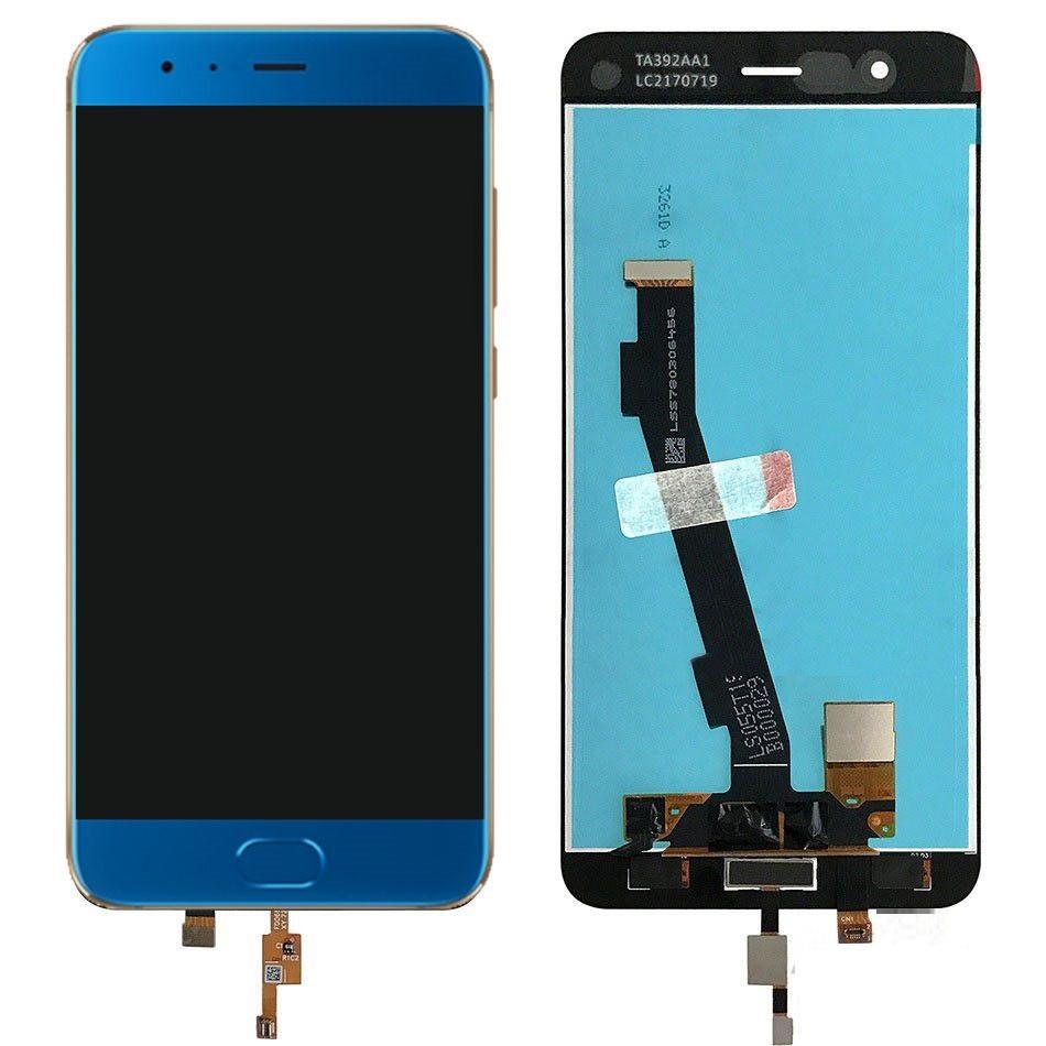 Дисплей Xiaomi Mi Note 3 + сенсор синий