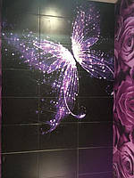 Фотопанно для ванной комнаты из керамической плитки - изготовление в Днепре 2