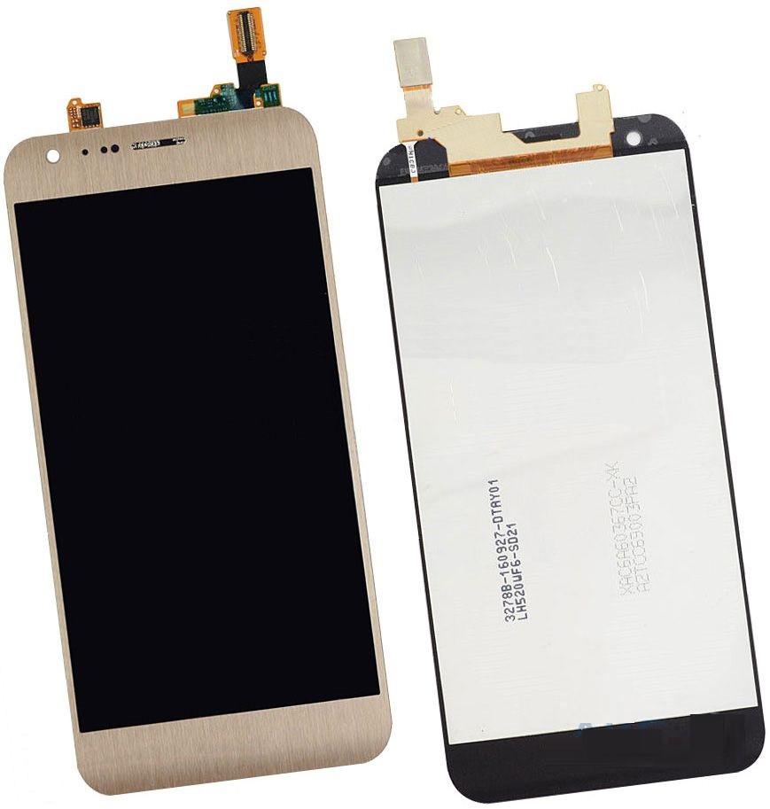 Дисплей LG K580 X Cam + сенсор золотой оригинал