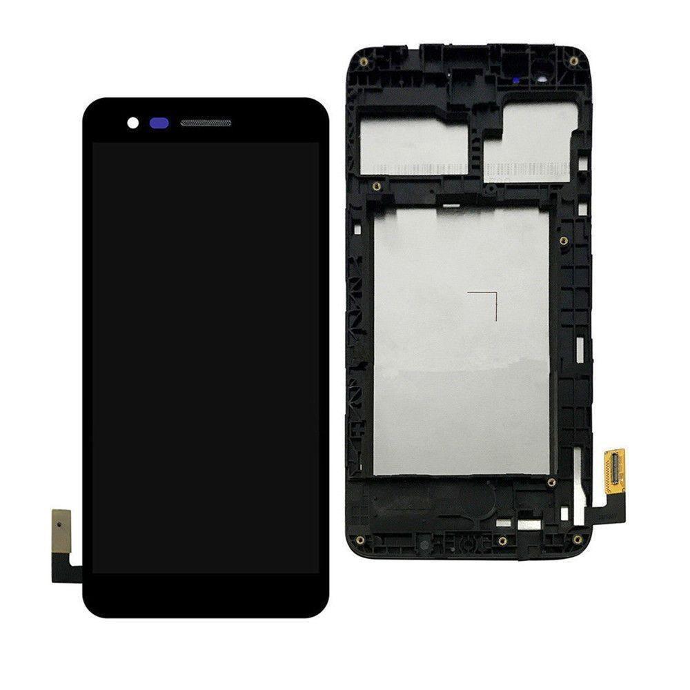 Дисплей LG M160 K4(2017), M150, M151, M153, M154 + сенсор чёрный+ рамка