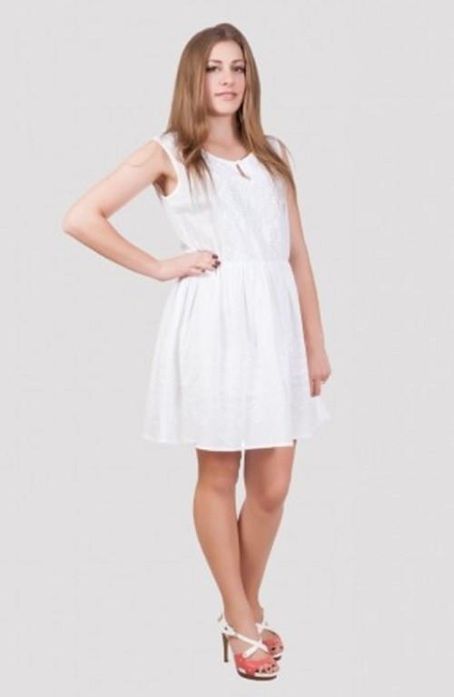 Летнее лёгкое платье короткое