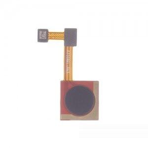 Шлейф Xiaomi Mi A2, Mi 6x, с сканером отпечатка пальца, чёрного цвета