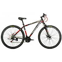 """Велосипед IMPULS TIME 29"""" Рама 19"""" черно-серо-красный Производитель: IMPULS Код товара: 361      0 отзывов"""