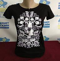 """Жіноча футболка вишиванка """"Яна"""", фото 1"""