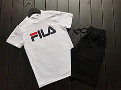 Летний комплект Футболка + Шорты (вместе дешевле) в стиле FILA