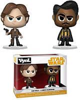 Вінілові фігурки Funko Vynl: Star Wars Solo - Han & Lando