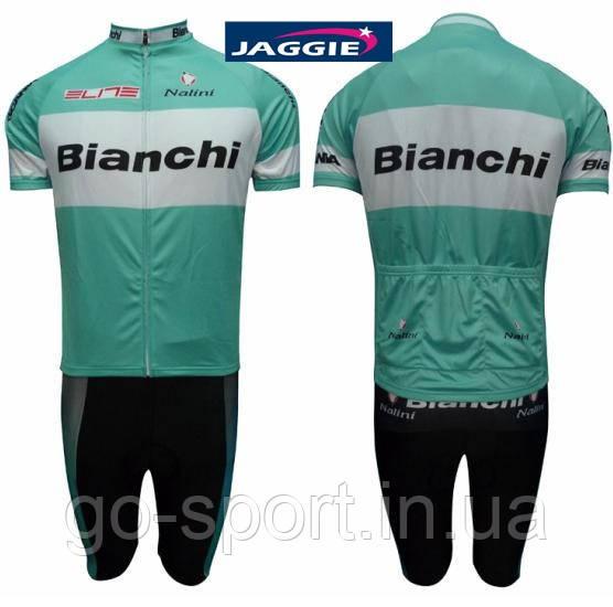 Велоформа Bianchi 2012  bib