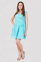Отличное летнее платье модного кроя из натуральной ткани от производителя