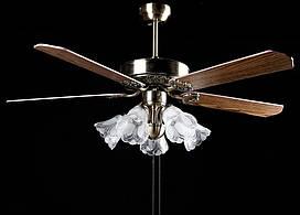 Люстра вентилятор LF0052M-52/5 (AB)