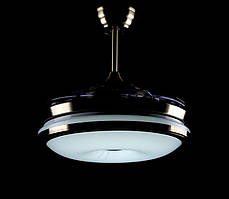 Люстра вентилятор LF0270-42/68 (AB) BLUETOOTH