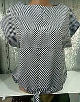 Блуза с принтом женская (ПОШТУЧНО)