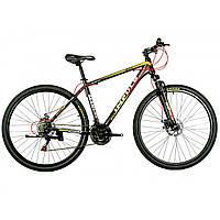 """Велосипед IMPULS MARVEL 29"""" Рама 19"""" черно-жёлто-красный"""