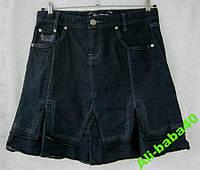 Юбка женская демисезонная плотный джинс бренд Urban Jeans р.48-50