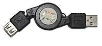 Кабель AM-AF 0.8м рулетка , фото 1