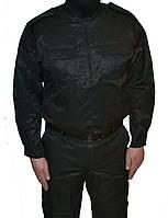 Костюм охранника Титан черный под пояс 54-60 р.
