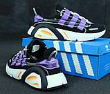 Кроссовки мужские Adidas Lexicon 31260 черные, фото 3