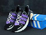Кроссовки мужские Adidas Lexicon 31260 черные, фото 4