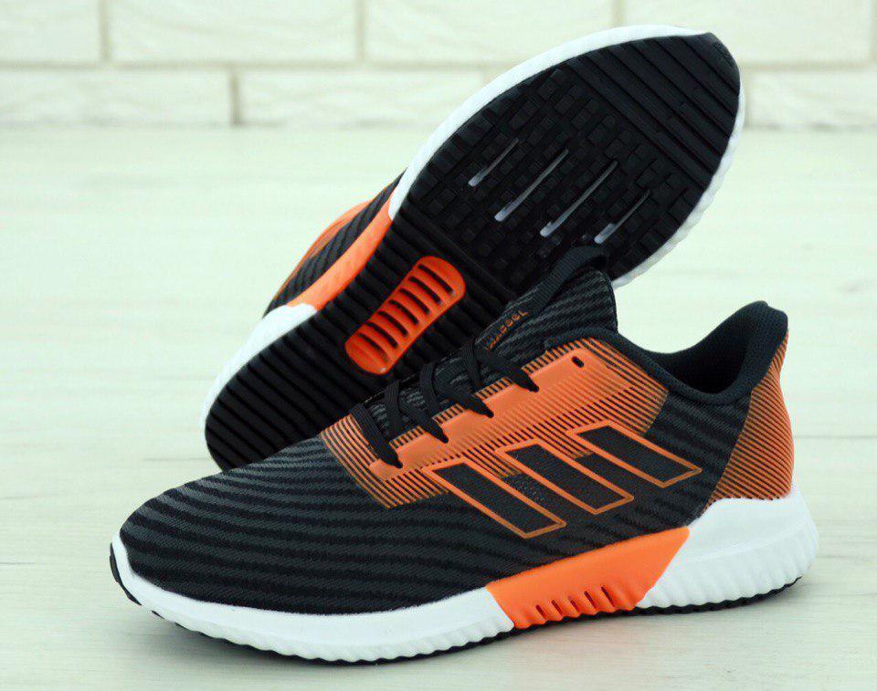 Кроссовки мужские Adidas Climacool 31262 черно-оранжевые