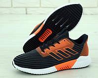 Кроссовки мужские Adidas Climacool 31262 черно-оранжевые, фото 1