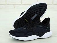 Кроссовки мужские Adidas Alphabounce 31266 серо-черные, фото 1