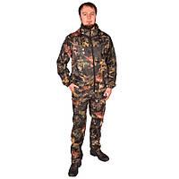 Камуфляжный костюм с капюшоном UkrCamo КДТ 58р. Дубок тёмный
