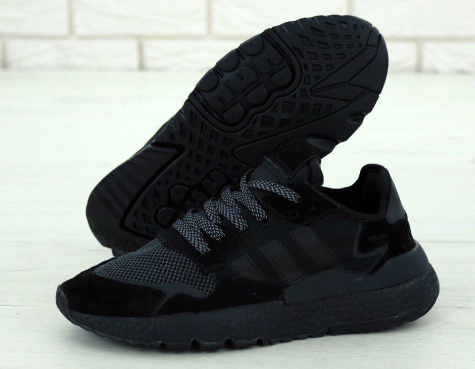Кросівки чоловічі Adidas Nite Jogger 31270 чорні