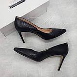 Удобные Женские туфли на невысокой шпильке, фото 3