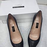 Удобные Женские туфли на невысокой шпильке, фото 2