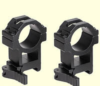 Крепление Air Precision Quick release Rifle scope High Profile Picatinny Mount Ring set