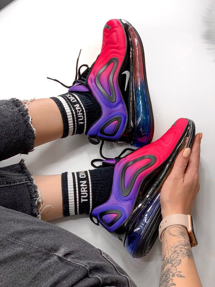 Кроссовки (Nike Air Max 720) (весна/осень, женские, текстиль,)