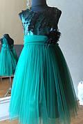 Бальное платье для девочки Паетки