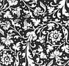 Салфетка Марго 24*24 3сл. Орнамент чорний