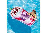 Надувной плотик большой ягодный коктейль Intex, фото 1