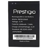 Аккумулятор PSP3512 для Prestigio 3512 Muze B3 (Original) 2000mAh