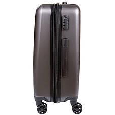 Чемодан OULANDO большой пластик ABS расширение 4 колеса  47х70х30(+3) тёмно-серый  ксЛ516-28тсер, фото 2