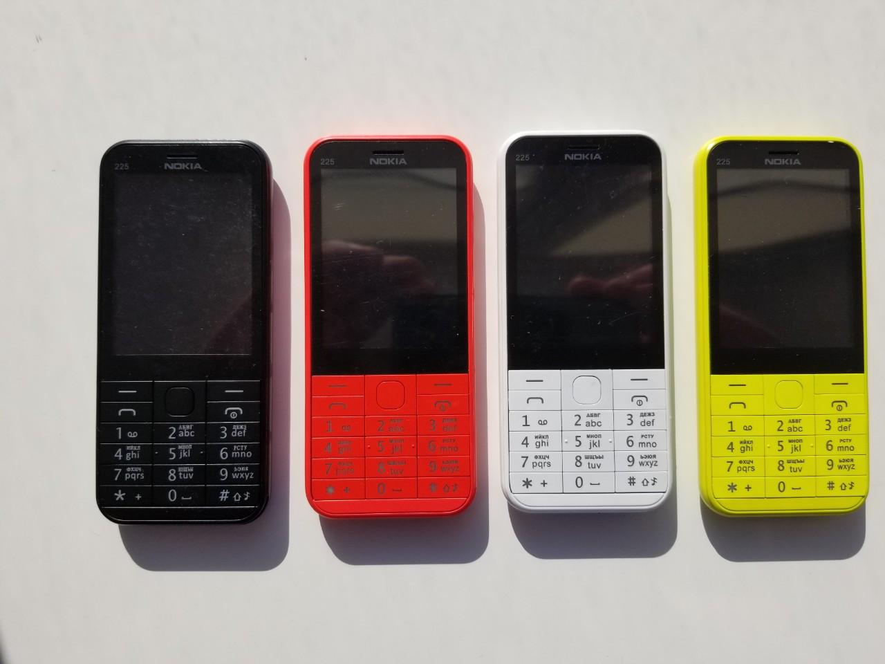 6408a43fd3046 Новые кнопочные телефоны Nokia 225 Duos! Все цвета! Отправка! - Интернет  магазин