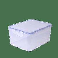 Пищевой контейнер с зажимом 0.45,0.65,0.9,1,1.5,2,2.5, 4, 6 л
