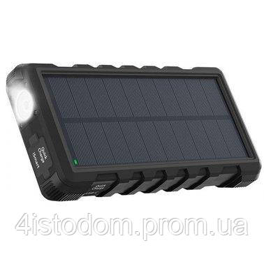 Внешний аккумулятор RavPower Power Bank 25000mAh Solar Charger Black (RP-PB083)