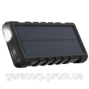 Внешний аккумулятор RavPower Power Bank 25000mAh Solar Charger Black (RP-PB083), фото 2