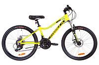 """Велосипед детский 24"""" Formula ACID 2.0 DD 2019 (рама 12.5"""", желтый)"""