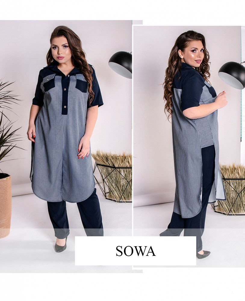 16f1999b75fc Костюм женский с штанами Линда - оптом и в розницу от производителя ...