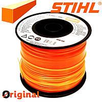 Косильная струна STIHL, Ø 2.4 мм  квадратная ОРИГИНАЛ