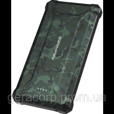 Внешний аккумулятор RavPower Power Bank 20100mAh Waterproof Green (RP-PB097)